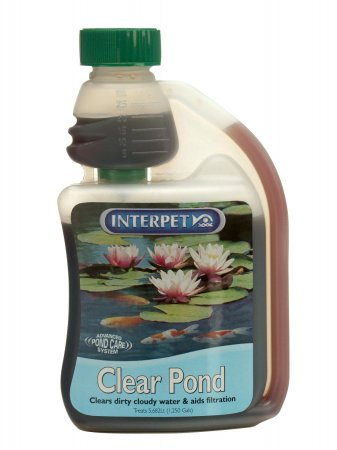 Blagdon clear pond 500ml for Koi pond water murky